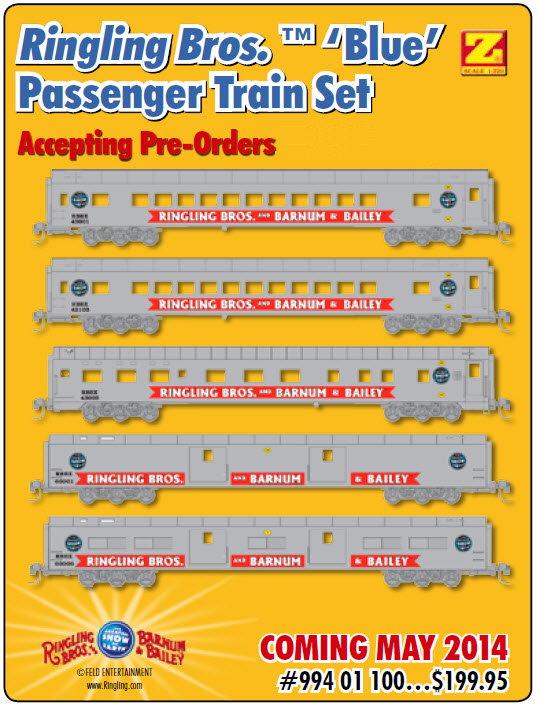Micro trains ringling bros reviews